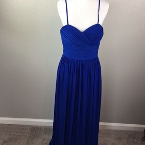Navy blue bridesmaid, prom or event dresss
